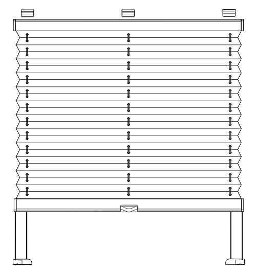 Inline Plissee F R Dachfenster