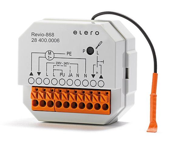 Elero Revio-868 für Rohr- und Jalousie - Thumbnail