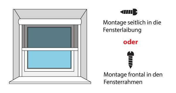insektenschutz rollo f r fenster. Black Bedroom Furniture Sets. Home Design Ideas
