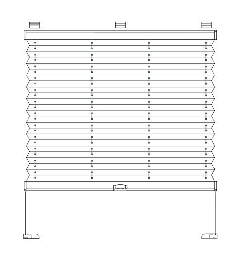 cosiflor plissee spannschuh vs2 cheap spannschuh weiss fr plissee rollo verspannt upudown. Black Bedroom Furniture Sets. Home Design Ideas