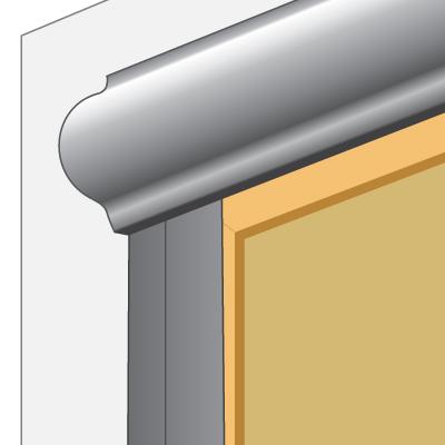 fantasia kassettenrollo mit f hrungsschienen. Black Bedroom Furniture Sets. Home Design Ideas